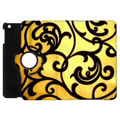 Texture Pattern Beautiful Bright Apple Ipad Mini Flip 360 Case by Nexatart