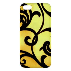 Texture Pattern Beautiful Bright Apple Iphone 5 Premium Hardshell Case by Nexatart