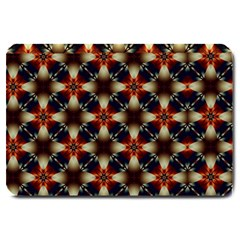 Kaleidoscope Image Background Large Doormat