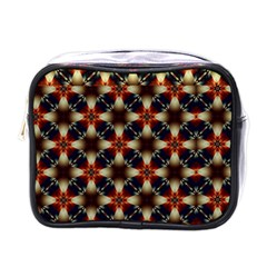 Kaleidoscope Image Background Mini Toiletries Bags by Nexatart