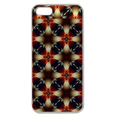 Kaleidoscope Image Background Apple Seamless Iphone 5 Case (clear) by Nexatart