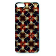 Kaleidoscope Image Background Apple Seamless Iphone 5 Case (color) by Nexatart