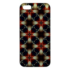 Kaleidoscope Image Background Iphone 5s/ Se Premium Hardshell Case by Nexatart