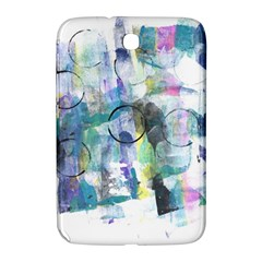 Background Color Circle Pattern Samsung Galaxy Note 8 0 N5100 Hardshell Case  by Nexatart