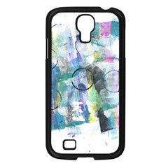 Background Color Circle Pattern Samsung Galaxy S4 I9500/ I9505 Case (black) by Nexatart