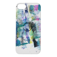 Background Color Circle Pattern Apple Iphone 5s/ Se Hardshell Case by Nexatart