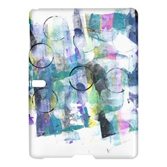 Background Color Circle Pattern Samsung Galaxy Tab S (10 5 ) Hardshell Case  by Nexatart