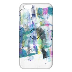 Background Color Circle Pattern Iphone 6 Plus/6s Plus Tpu Case