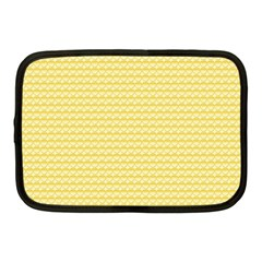 Pattern Yellow Heart Heart Pattern Netbook Case (medium)