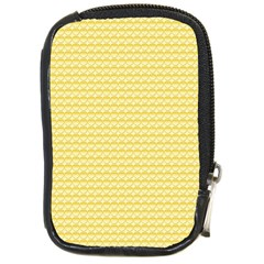 Pattern Yellow Heart Heart Pattern Compact Camera Cases