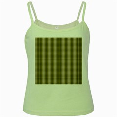 Pattern Background Stripes Karos Green Spaghetti Tank by Nexatart