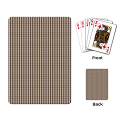 Pattern Background Stripes Karos Playing Card by Nexatart