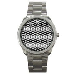 Expanded Metal Facade Background Sport Metal Watch by Nexatart