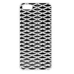Expanded Metal Facade Background Apple Iphone 5 Seamless Case (white)