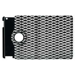 Expanded Metal Facade Background Apple Ipad 3/4 Flip 360 Case by Nexatart