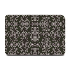 Line Geometry Pattern Geometric Plate Mats by Nexatart
