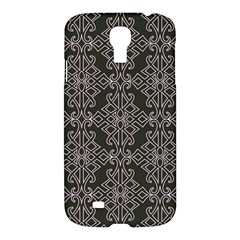 Line Geometry Pattern Geometric Samsung Galaxy S4 I9500/i9505 Hardshell Case by Nexatart
