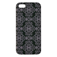 Line Geometry Pattern Geometric Iphone 5s/ Se Premium Hardshell Case by Nexatart