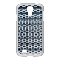 Texture Pattern Metal Samsung Galaxy S4 I9500/ I9505 Case (white)