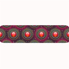 Abstract Circle Gem Pattern Large Bar Mats
