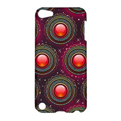 Abstract Circle Gem Pattern Apple Ipod Touch 5 Hardshell Case