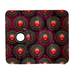 Abstract Circle Gem Pattern Galaxy S3 (flip/folio) by Nexatart