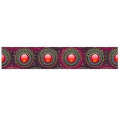 Abstract Circle Gem Pattern Flano Scarf (large) by Nexatart