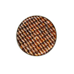 Dirty Pattern Roof Texture Hat Clip Ball Marker (10 Pack)