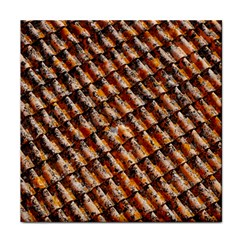 Dirty Pattern Roof Texture Face Towel by Nexatart