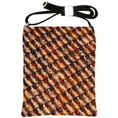 Dirty Pattern Roof Texture Shoulder Sling Bags by Nexatart