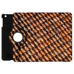 Dirty Pattern Roof Texture Apple iPad Mini Flip 360 Case Front