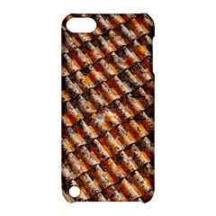 Dirty Pattern Roof Texture Apple Ipod Touch 5 Hardshell Case With Stand by Nexatart