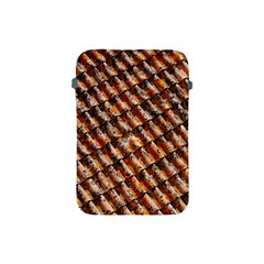 Dirty Pattern Roof Texture Apple Ipad Mini Protective Soft Cases by Nexatart