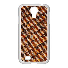 Dirty Pattern Roof Texture Samsung Galaxy S4 I9500/ I9505 Case (white)
