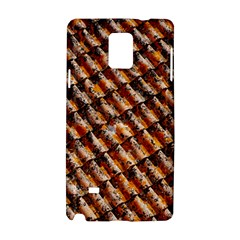 Dirty Pattern Roof Texture Samsung Galaxy Note 4 Hardshell Case by Nexatart