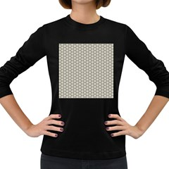 Background Website Pattern Soft Women s Long Sleeve Dark T Shirts