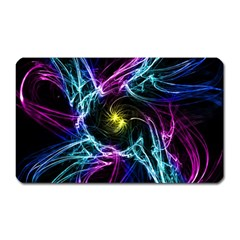 Abstract Art Color Design Lines Magnet (rectangular) by Nexatart