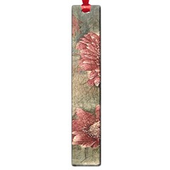 Flowers Plant Red Drawing Art Large Book Marks by Nexatart