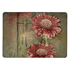Flowers Plant Red Drawing Art Samsung Galaxy Tab 10 1  P7500 Flip Case
