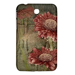 Flowers Plant Red Drawing Art Samsung Galaxy Tab 3 (7 ) P3200 Hardshell Case