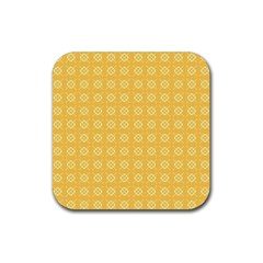 Pattern Background Texture Rubber Coaster (square)  by Nexatart
