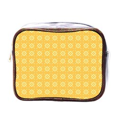 Pattern Background Texture Mini Toiletries Bags by Nexatart
