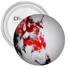 Red Black Wolf Stamp Background 3  Buttons by Nexatart