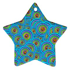 Digital Art Circle About Colorful Ornament (star) by Nexatart
