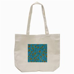 Digital Art Circle About Colorful Tote Bag (cream) by Nexatart