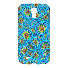 Digital Art Circle About Colorful Samsung Galaxy S4 I9500/i9505 Hardshell Case by Nexatart