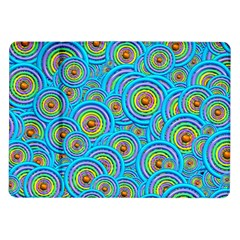 Digital Art Circle About Colorful Samsung Galaxy Tab 10 1  P7500 Flip Case by Nexatart