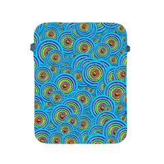 Digital Art Circle About Colorful Apple Ipad 2/3/4 Protective Soft Cases by Nexatart