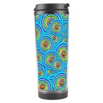 Digital Art Circle About Colorful Travel Tumbler Left