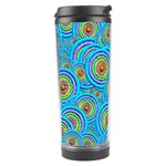 Digital Art Circle About Colorful Travel Tumbler Center